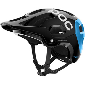 POC Tectal Race Spin Helmet uranium black/radon blue